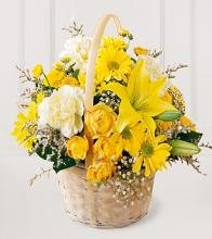 The FTD® Flourishing Garden™ Basket