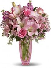 Pink Bouquet with Premium Pink Roses
