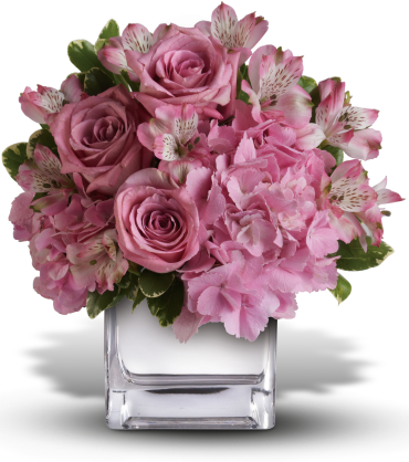 Faith Hill - Be Sweet Bouquet with Lavender Roses