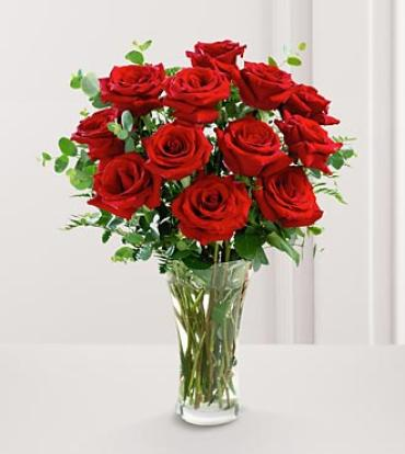 The FTD Premium Red Rose Bouquet