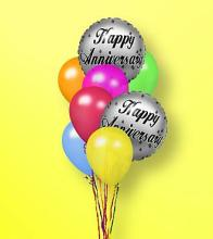 The FTD® Anniversary Balloon Bunch
